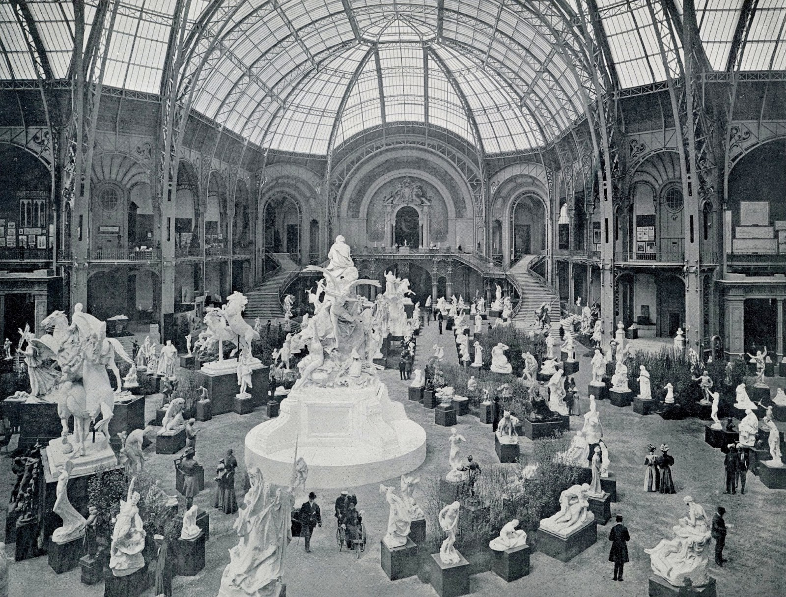 History in photos neurdein fre res - Grand palais expo horaires ...