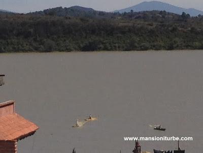 Panorámica del Lago de Pátzcuaro desde la Isla de Janitzio