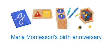 Google Pays Tribute to Maria Montessori With a Doodle