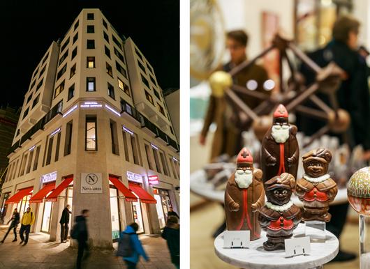 Schokoladen Geschäft Neuhaus in der Friedrichsstraße