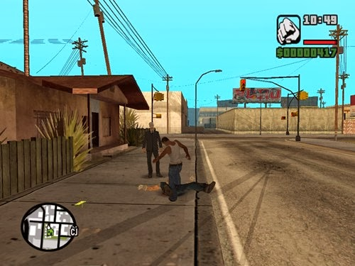 Grand Theft Auto San Andreas PC Gameplay