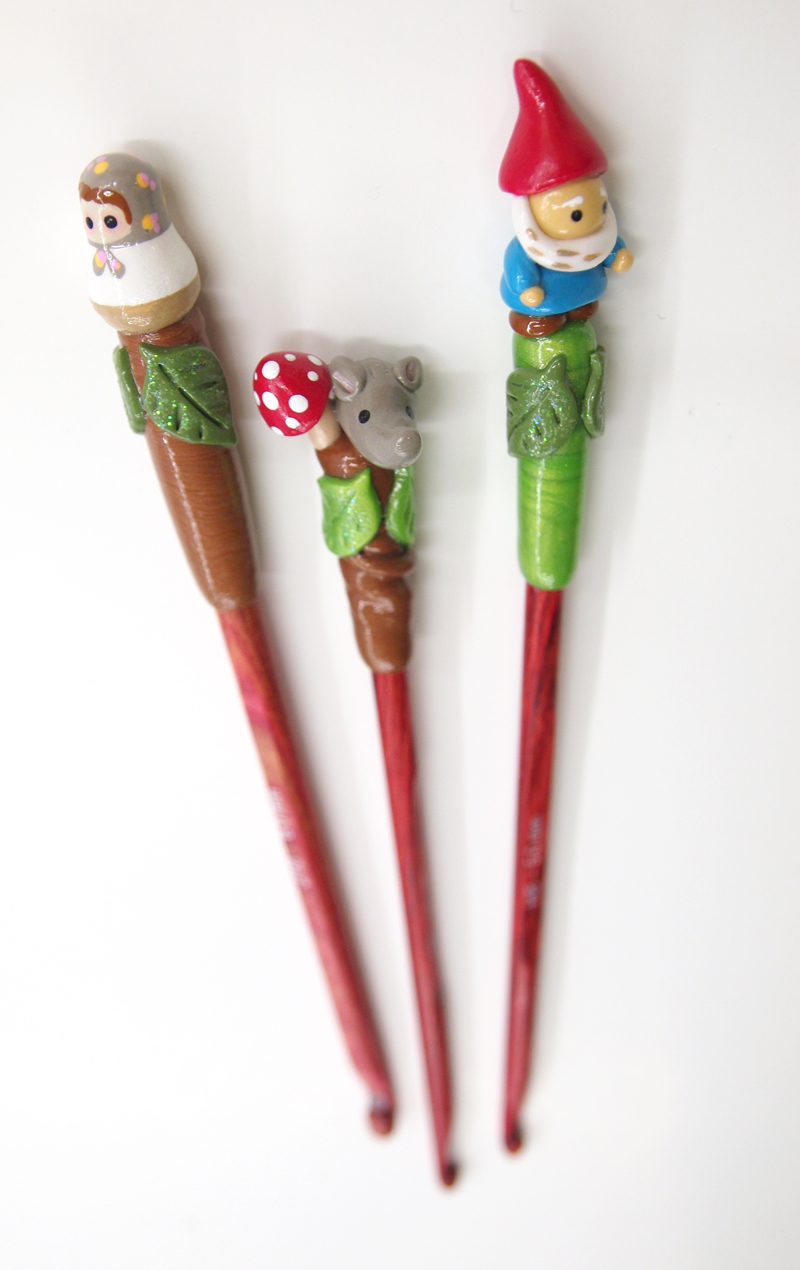 Crochet Hooks : ... Tiger Crafts: Stitch Markers and Crochet Hooks: Handmade in Colorado