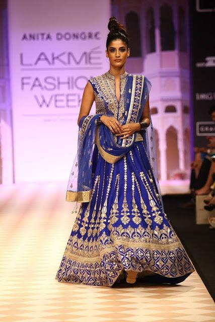 """Anita Dongre showcases """"Jaipur Bride"""" at Lakme Fashion Week - Day 01 image"""