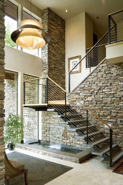 Aprovechar hueco de escalera, decoración.
