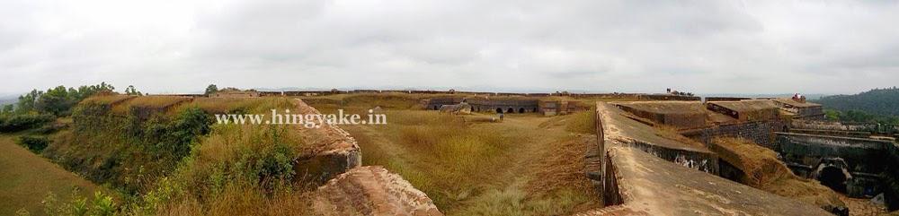 manjarabad fort panorama