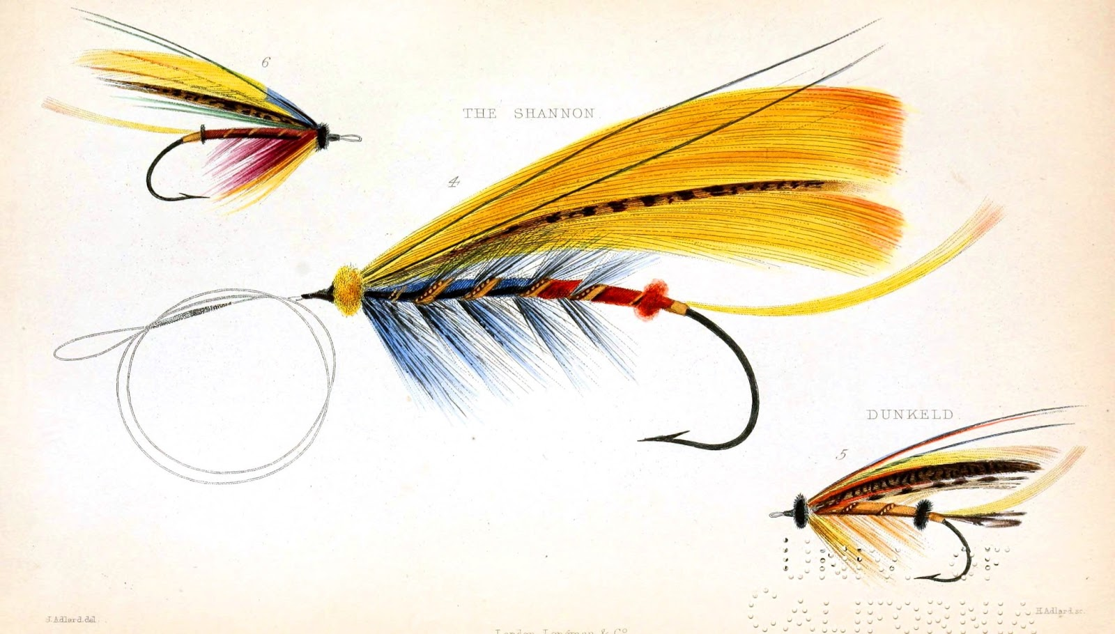 the graffical muse 4 pages of vintage fly fishing lures ForFly Fishing Bait