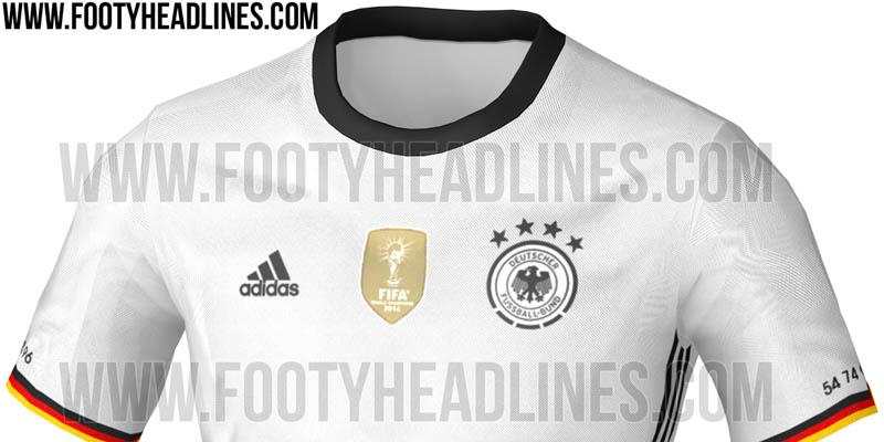 Se filtra el modelo de la camiseta adidas de Alemania para la Euro 2016