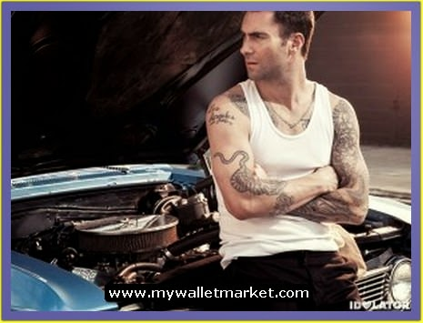 Awesome tattoos designs ideas for men and women adam for Maroon 5 tattoos hindu