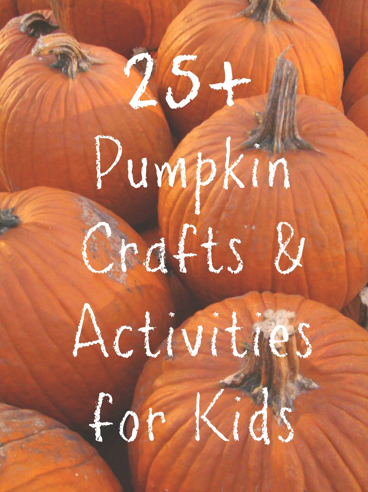 It's just a picture of Versatile Pumpkins Crafts for Kids