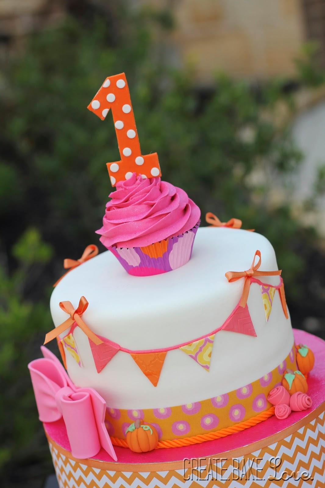 Create Bake Love Happy First Birthday Julia