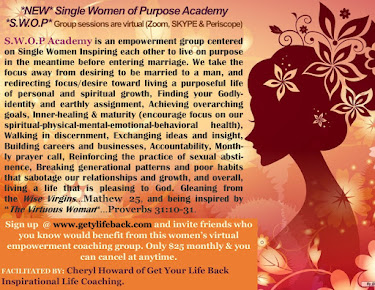 S.W.O.P SINGLE WOMEN OF PURPOSE ACADEMY-ONLY FREE TO JOIN