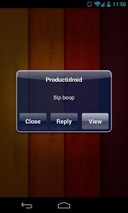 iPhone Notifications screenshoot