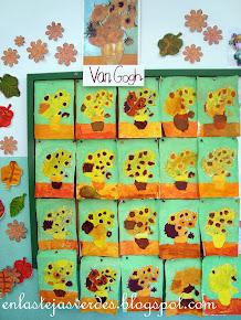 Girasoles de Van Gogh