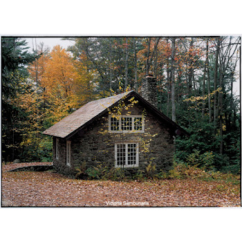 A studio at MacDowell Colony