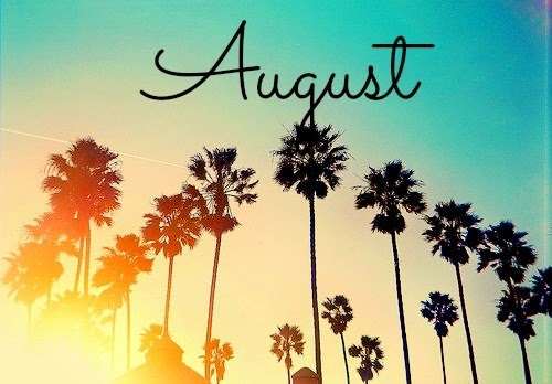 New month beautiful people welcome to the month of august this month