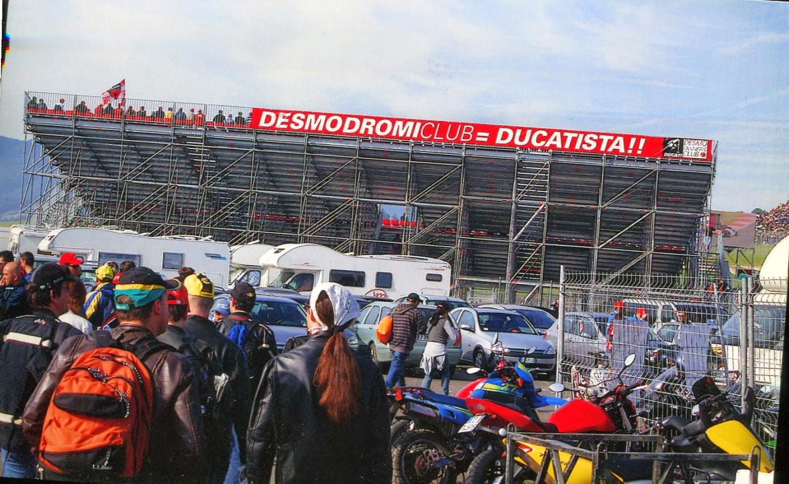 Grada Ducati en Mugello