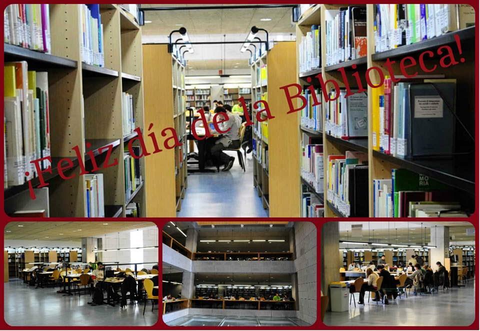 ¡¡¡Feliz día de las Bibliotecas!!!
