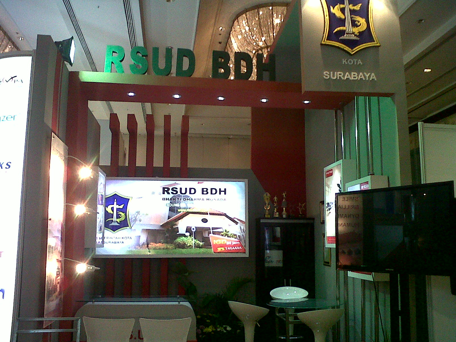 BDH di Hotel Shangrila tgl 23 sd 25 April 2013 event HOSPITAL EXPO IX