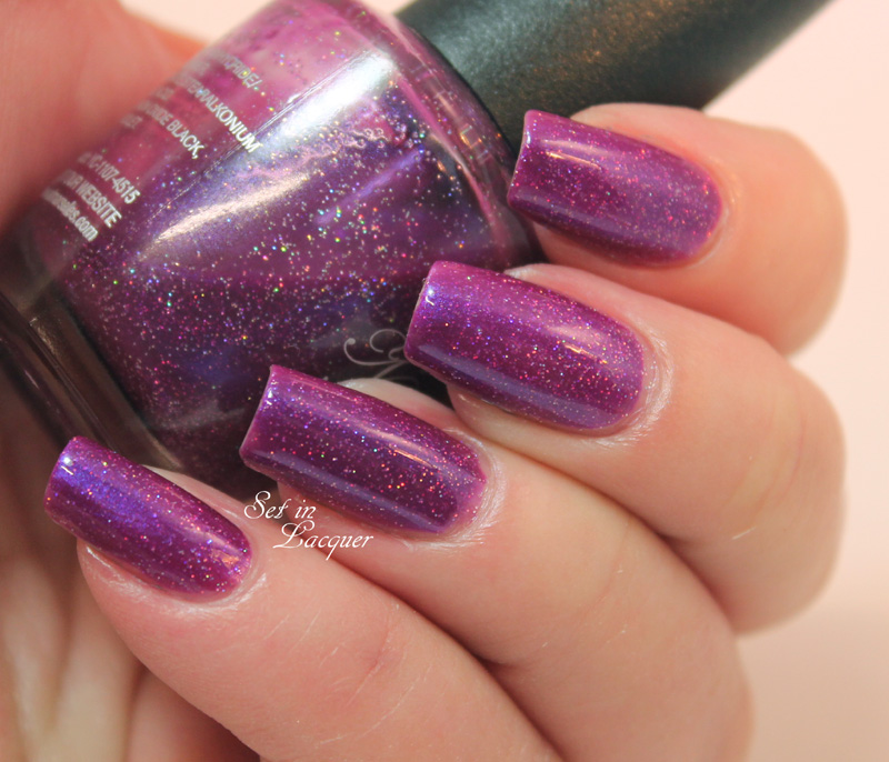 Holographic Purple Frankened Nail Polish