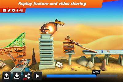 Bridge Constructor Stunts Mod Apk Games Android Bridge Constructor Stunts v1.3 APK MOD Free Download