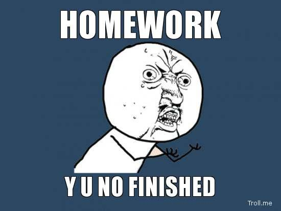 Should there be homework