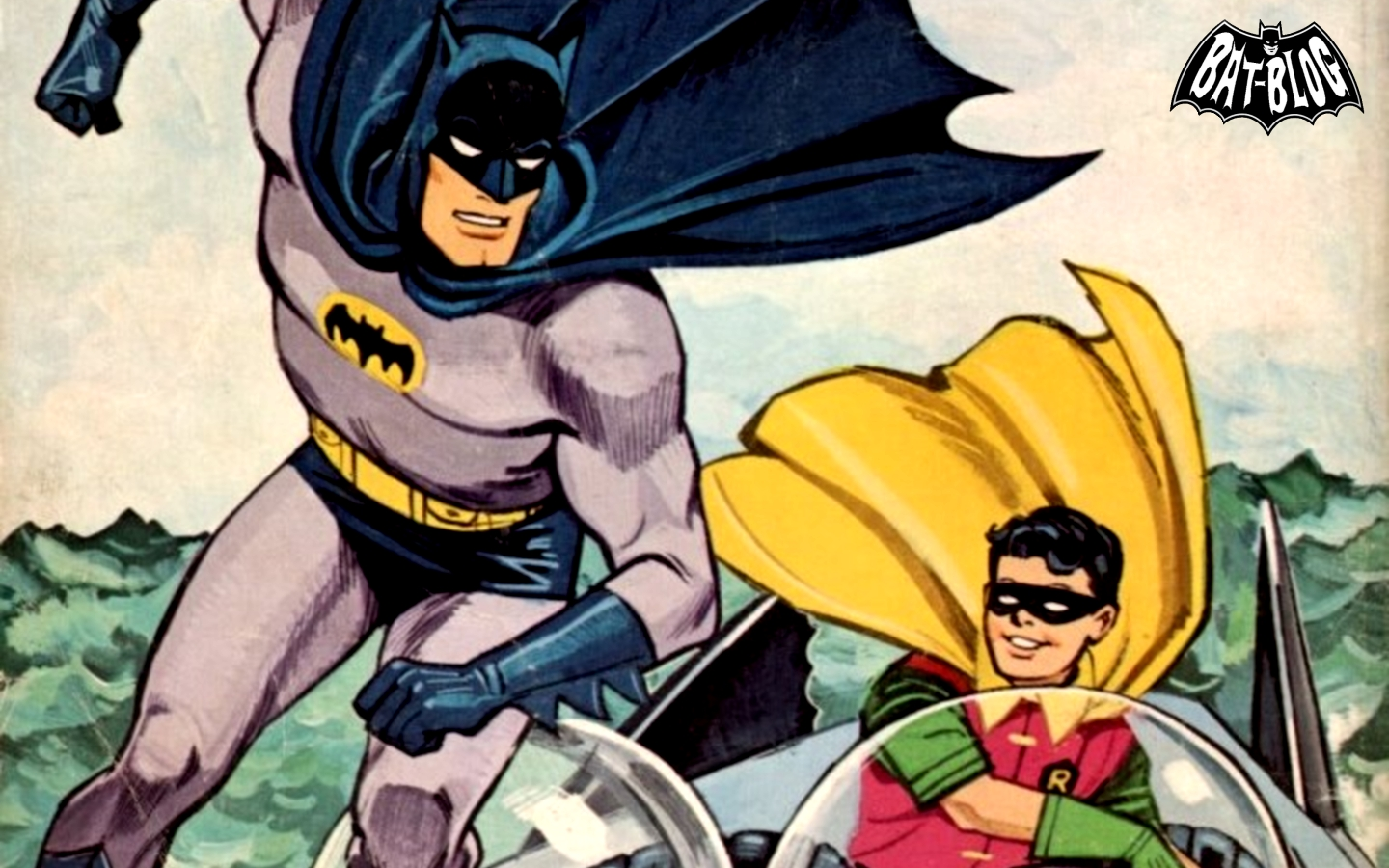 These 2 Bat Wallpapers Were Made Using Graphics From Some Older Vintage 1966 Batman Coloring Books That Long Time Collectors Might Recognize