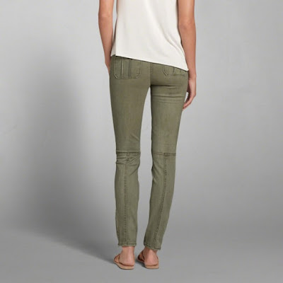 Pantalones vista posterior