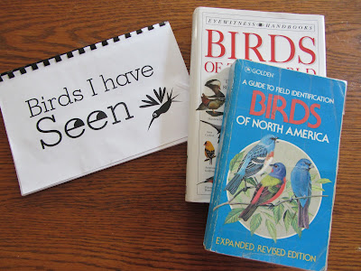 Birdwatching notebooking