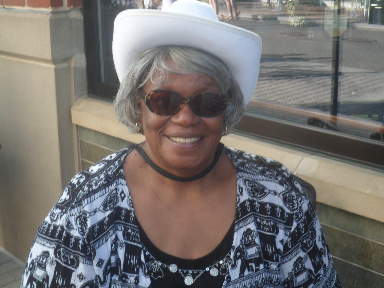 Malinda's White Cowboy Hat