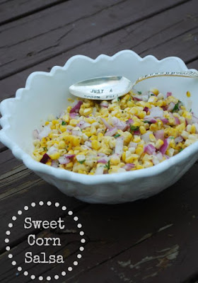 Sweet Corn Salsa (The Gingered Whisk)