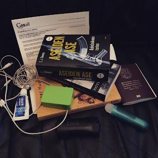 Tavaroita reissua varten