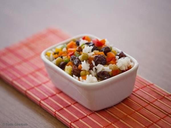 imagem de arroz a grega