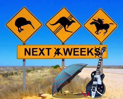 Neil Young & Crazy Horse Tour Australia New Zealand 2013