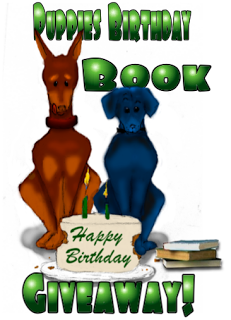 Puppies Birthday Book Giveaway