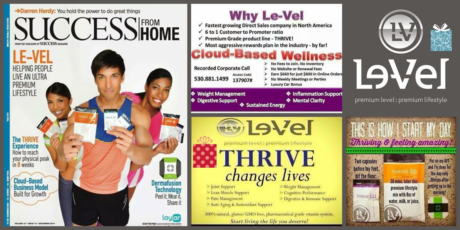 Does Level Thrive Products Contain Nicotine