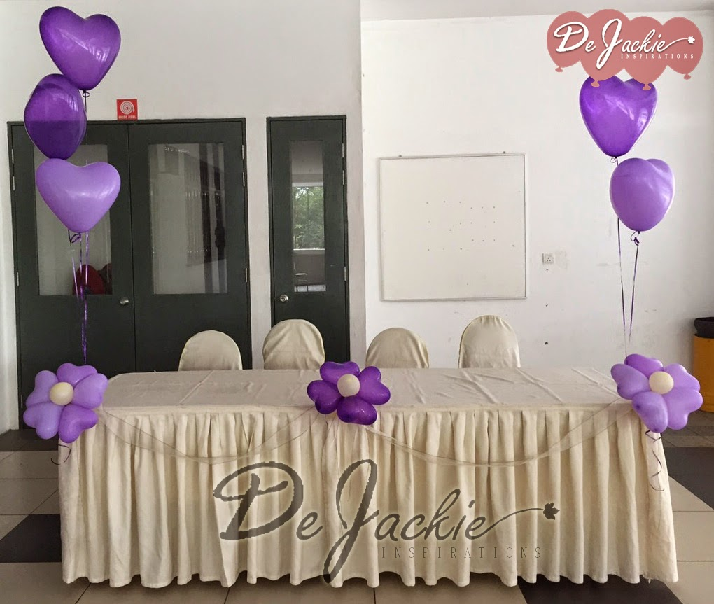 Balloon decorations for weddings birthday parties balloon wedding decoration jubilee hall kuching junglespirit Choice Image
