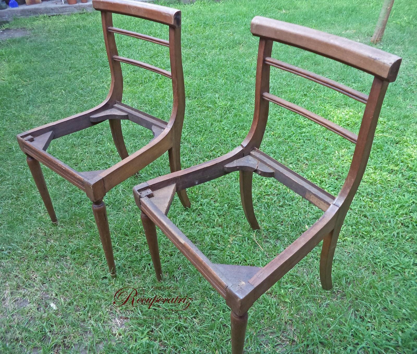 Recuperatriz una silla en terapia for Restos de azulejos baratos