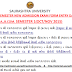 Notification For Saurashtra University External B.A & B.Com Sem 1 Admission 2015