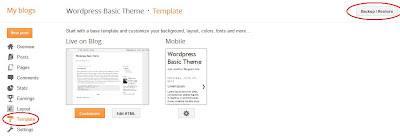 blogger templates settings