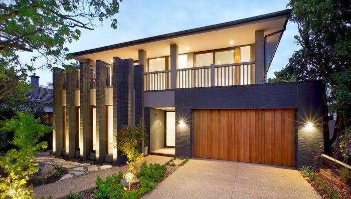 Fachadas de casas modernas fachadas de casas modernas con terraza - Terrazas de casas modernas ...