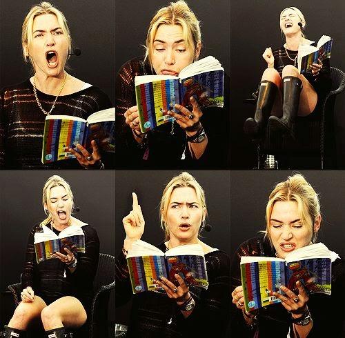¡Cuánto le gusta leer!