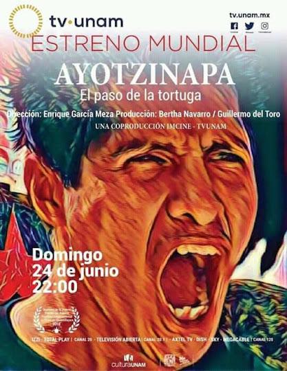 """Más El paradero de #los43desaparecidos es revelado """"Ayotzinapa, el paso de la tortuga """"Dir  Enrique"""