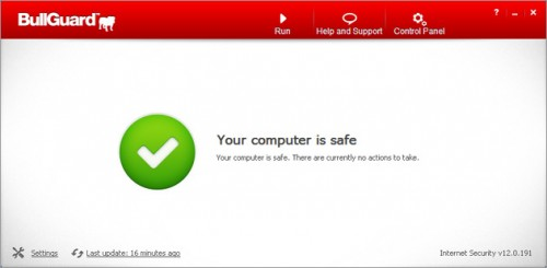 Bullguard Internet Security 12 Screenshot