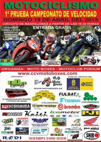 campeonato velocidad motociclismo 2015 gran canaria moto boxex