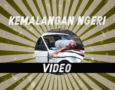 Video Kemalangan Ngeri Kereta Dan Pejalan Kaki