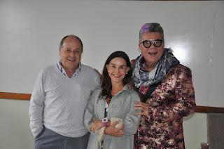 """Teresópolis recebeu no PoÊterÊ :Lucélia Santos, a eterna """"Escrava Isaura"""", Milton Cunha, comentarista de carnaval da Rede Globo"""