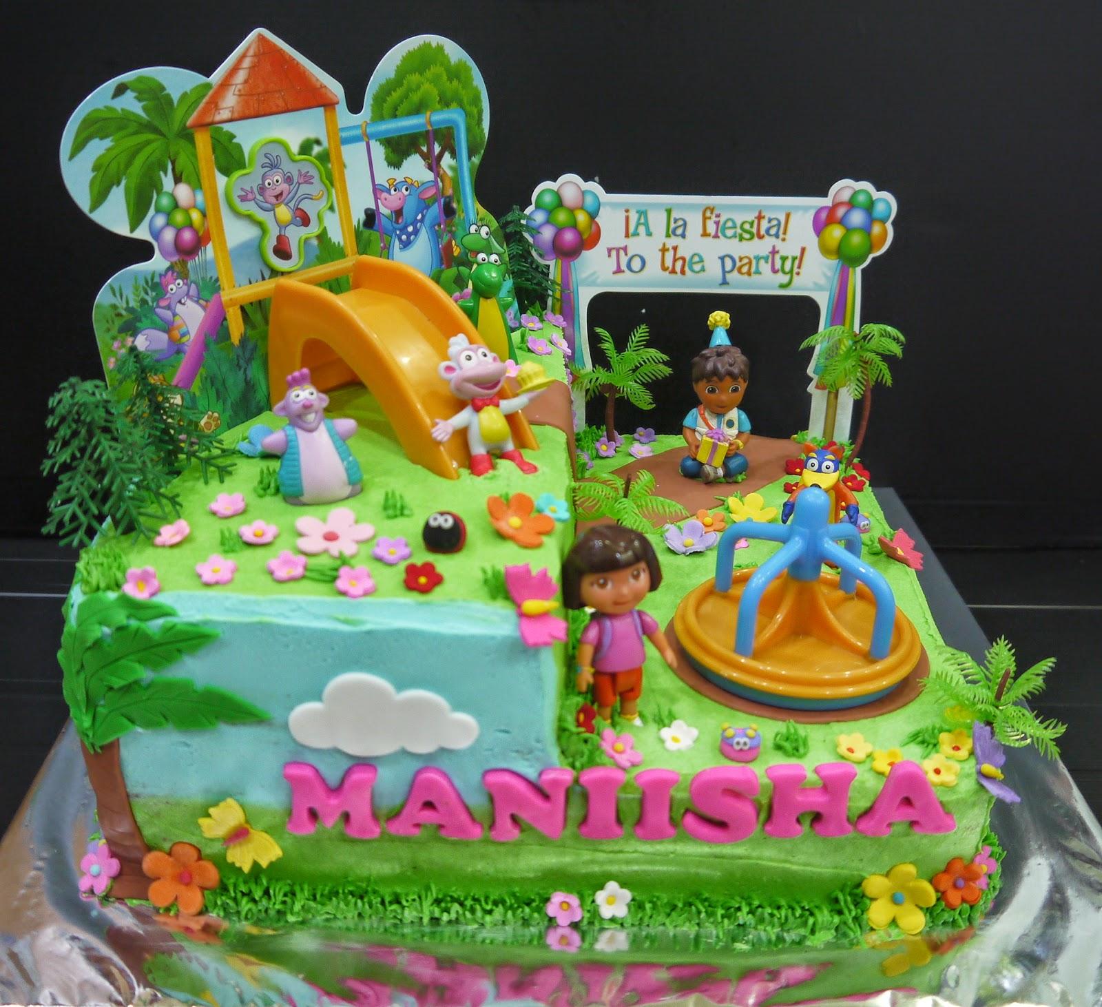 Cupcake Divinity: Manishas Dora cake