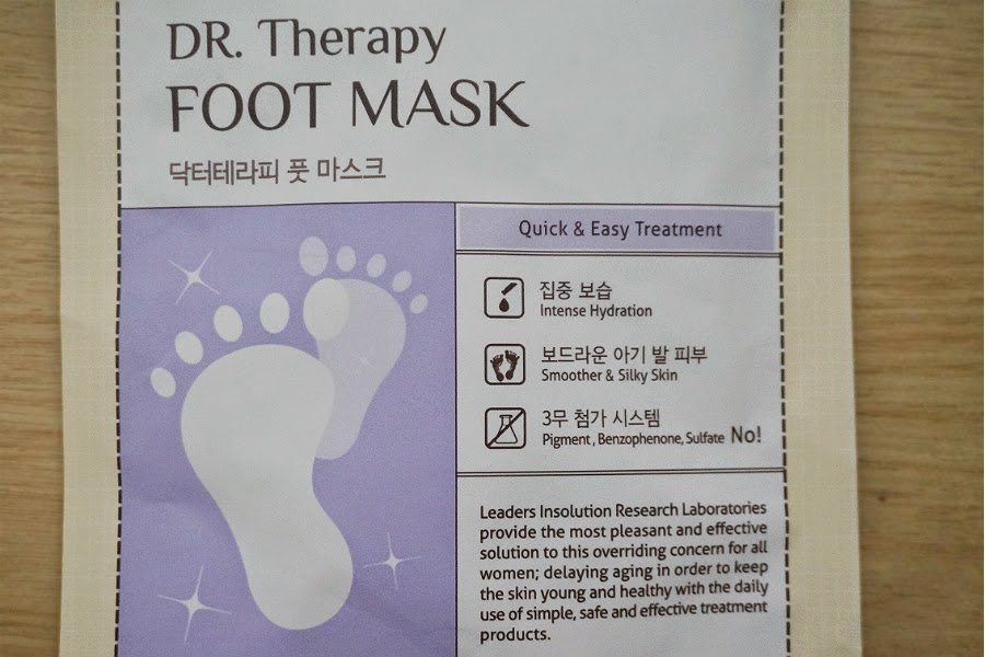 Leaders Insolution Dr Therapy Foot Mask