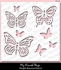 Stencil MPD Winged Beauties
