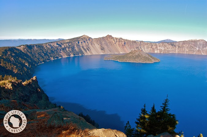 A day trip to Crater Lake National Park from bravelittlecheesehead.com